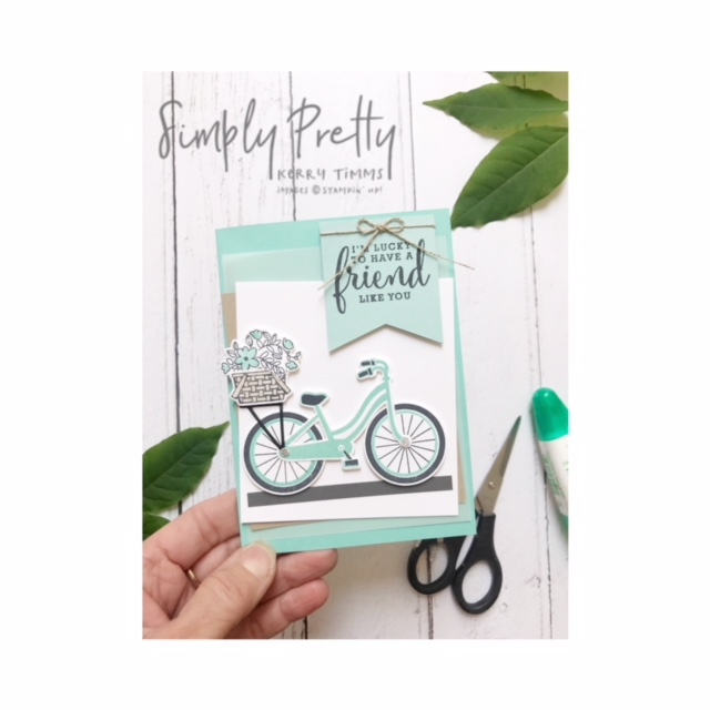 kerry timms stamping crafting papercraft creative workshop gloucester handmade craft stampin' up! class simply pretty studio