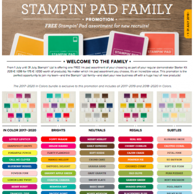 A Great Offer when you join Stampin' Up!