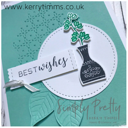 kerry timms simply pretty studio stamping cardmaking scrapbooking varied vases flowers handmade papercraft creative hobby gloucester
