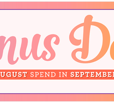 Bonus Days are back with an EXCLUSIVE Bundle too….