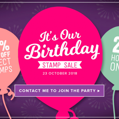 The Birthday Stamp Sale is coming tomorrow…..