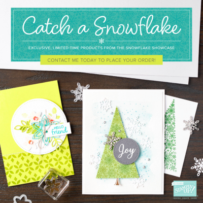 The Snowflake Showcase Promotion finishes soon