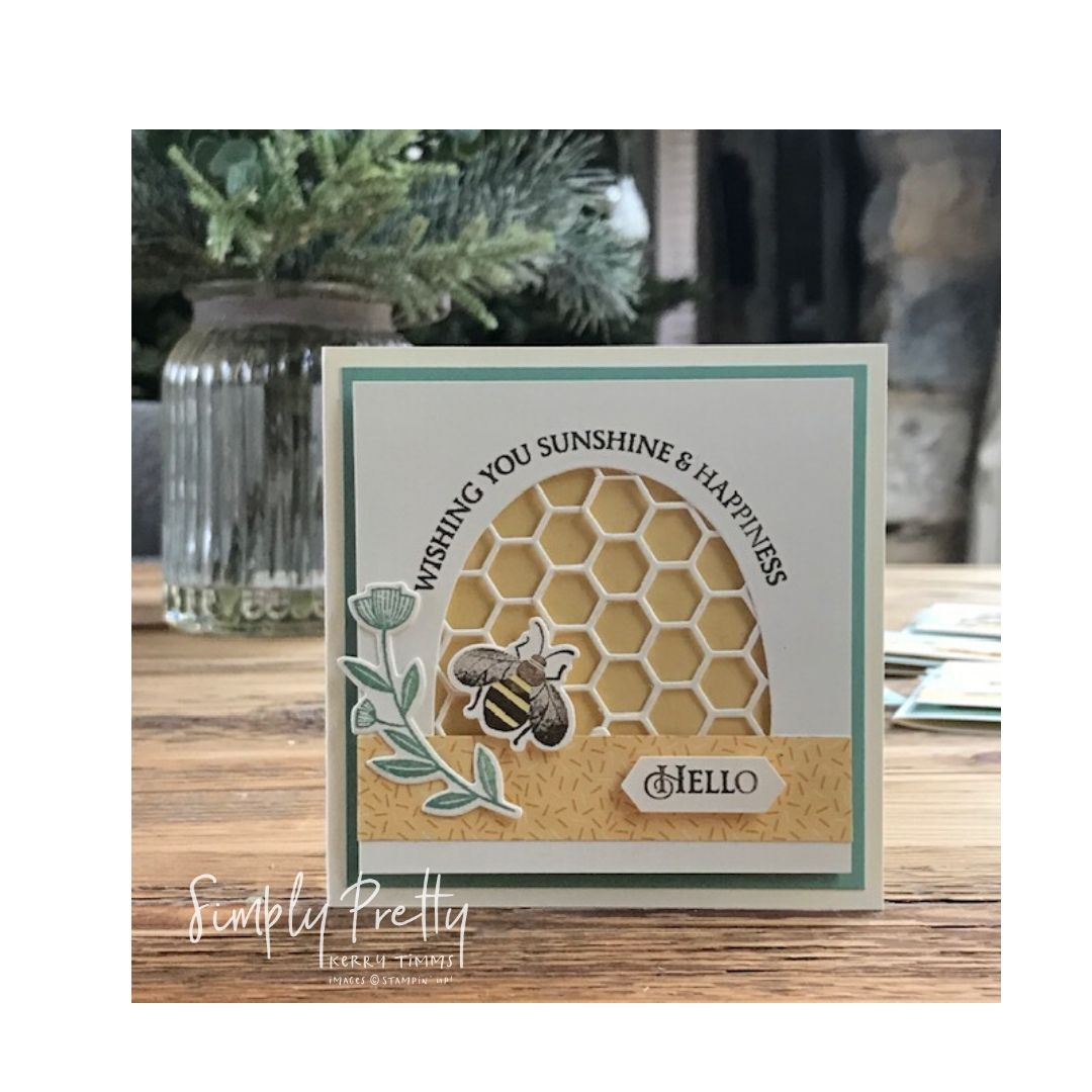 "Introducing the new ""Honey Bee"" stamp set from Stampin' Up!"