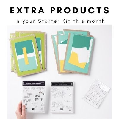 "The NEW ""Get & Go"" Starter Kit Promotion from Stampin' Up!"
