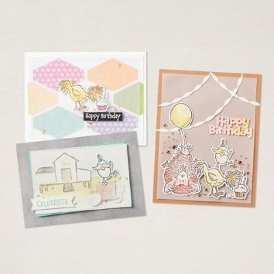 """""""Hey Chick"""" from Stampin' Up! is back with some Birthday Chicks!"""