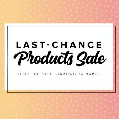The Last Chance Products Sale List is here