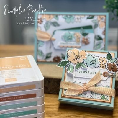 Hand-Penned Petals from Stampin' Up!