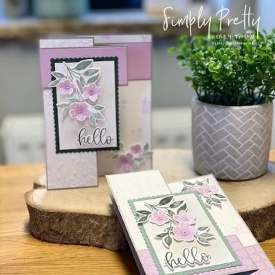 Using the Flowers from the Sweet as a Peach Stamp Set from Stampin' Up!