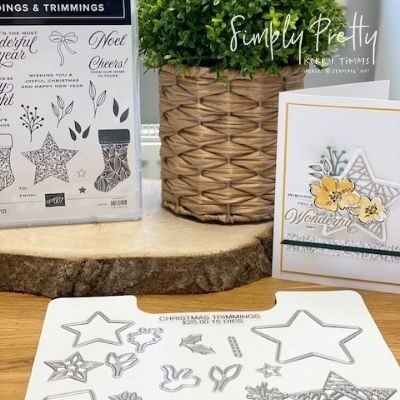 Tidings & Trimmings Stamps from Stampin' Up! for non festive crafting