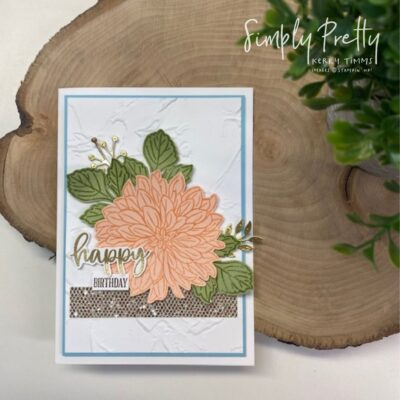 Delicate Dahlias – Free Gift from Stampin' Up! during Sale-a-Bration