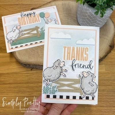 Counting Sheep Stamps and Dies FREE from Stampin' Up!